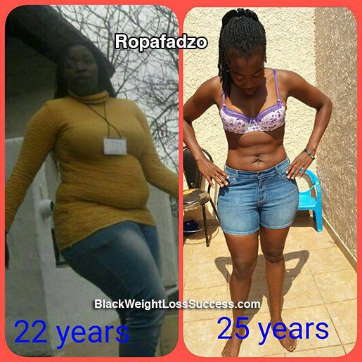 Ropafadzo weight loss