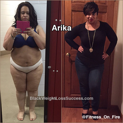 Arika before and after