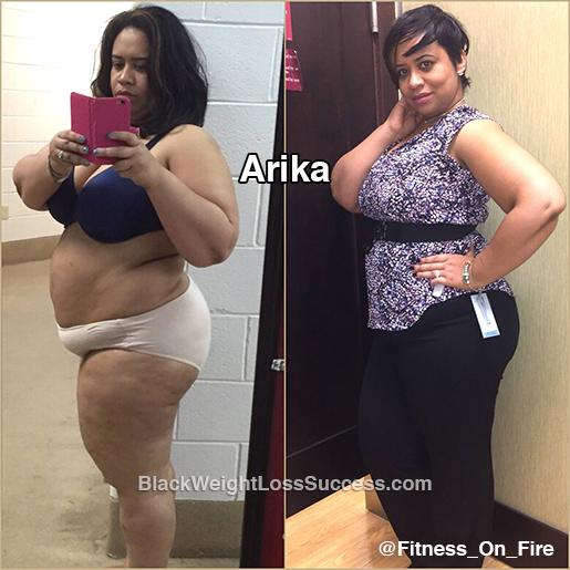 Arika weight loss story