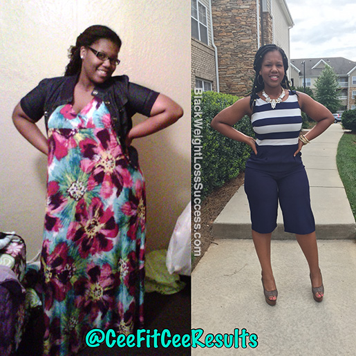 Cee before and after