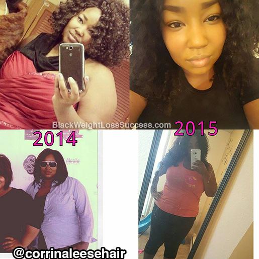 Corrin weight loss story