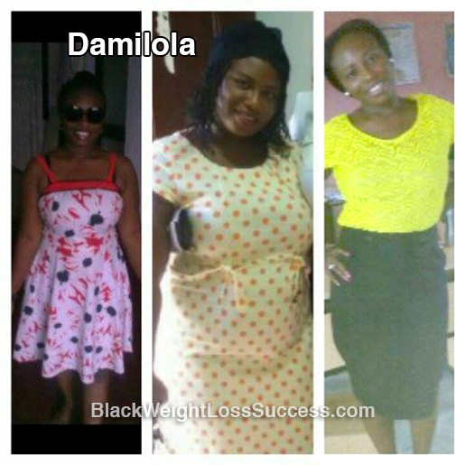 damilola before and after
