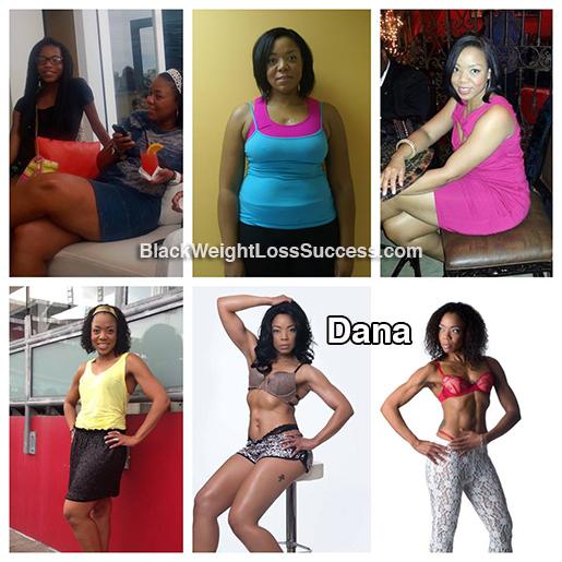 dana weight loss story