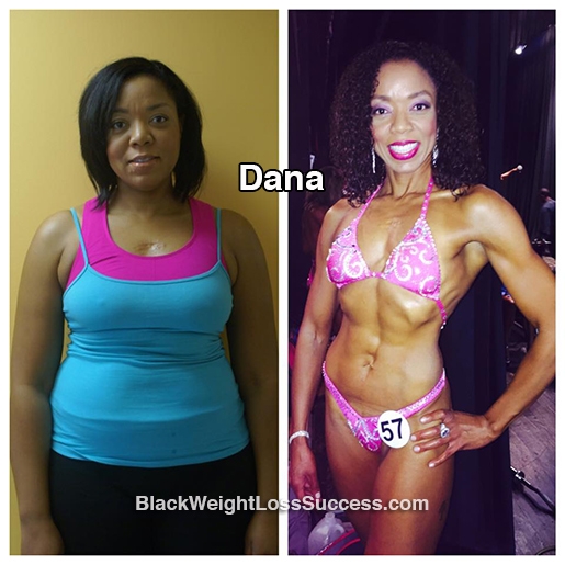 dana before and after