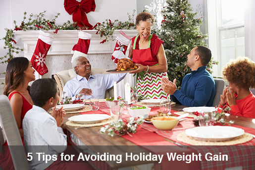 holiday weight gain tips