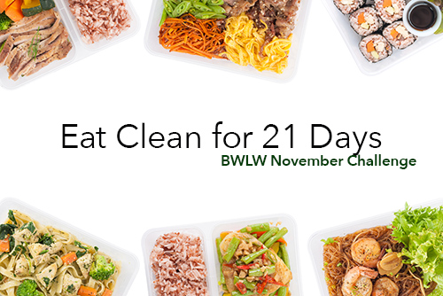 eat clean for 21 days