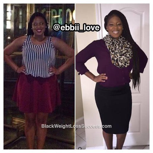 eboni before and after