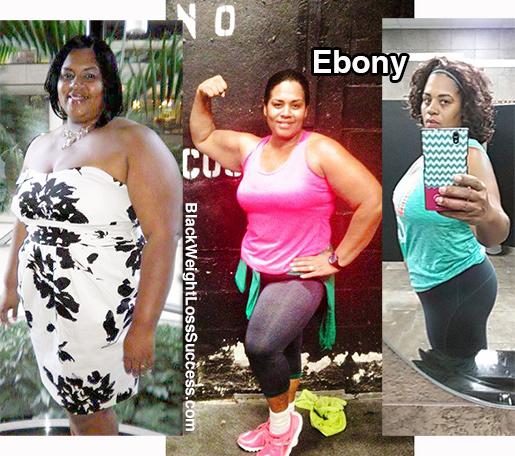 ebony weight loss