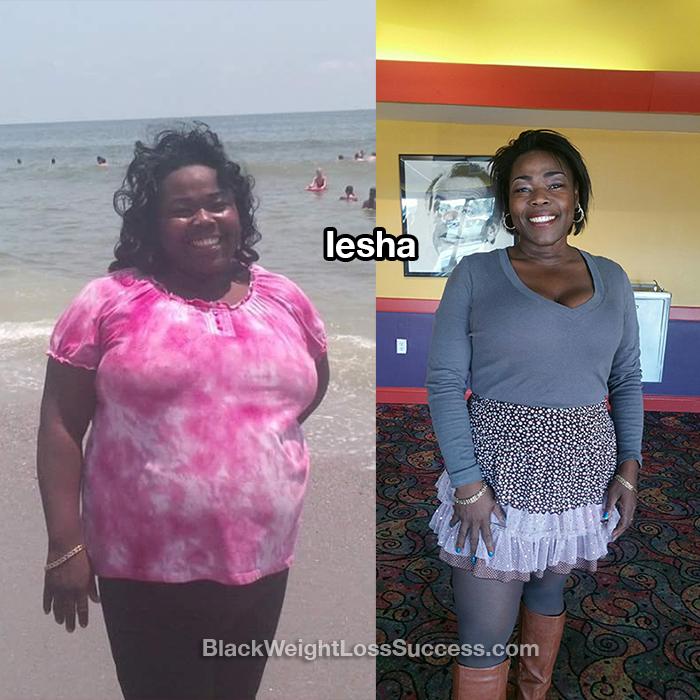iesha weight loss update