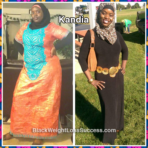 Kandia before and after
