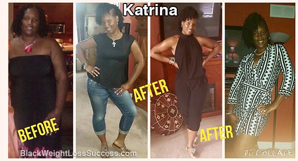 katrina weight loss journey