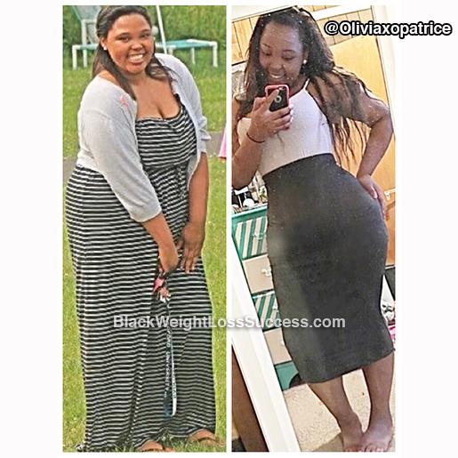 olivia weight loss