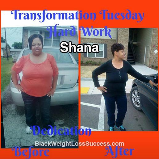 shana weight loss story
