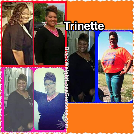 trinette before and after
