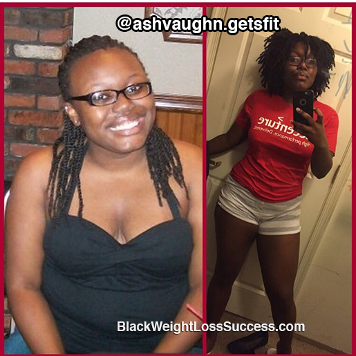 Ashleigh weight loss story