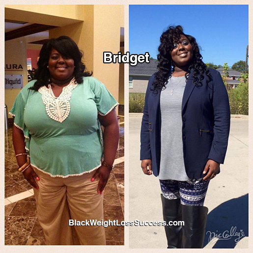 bridget before and after
