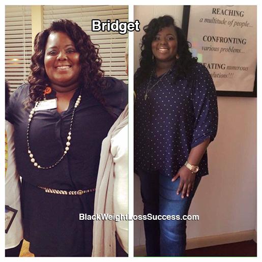 bridget lost 63 pounds