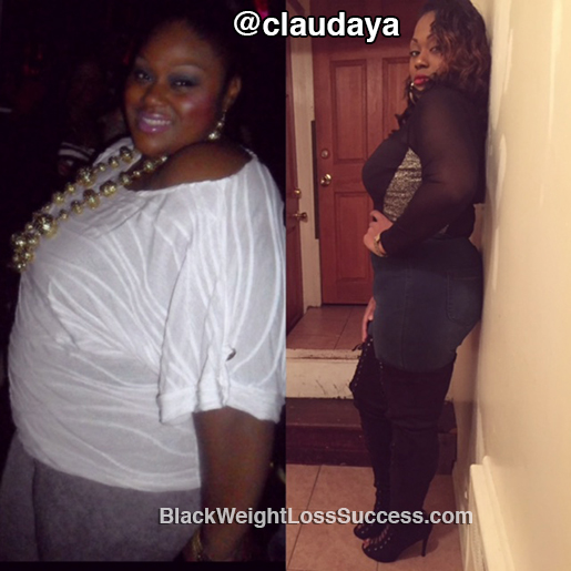 claudia before and after