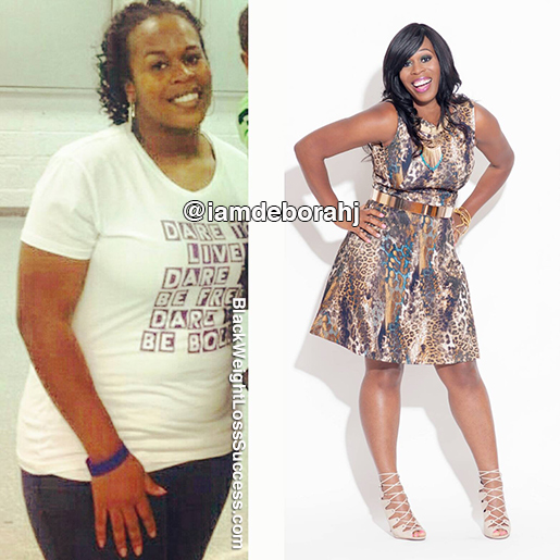 deborah weight loss story
