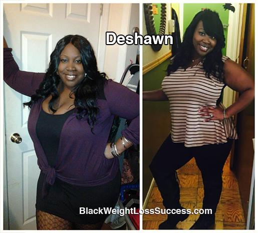 deshawn weight loss