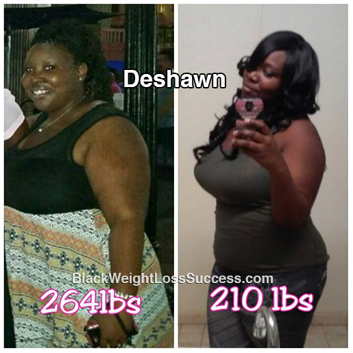 deshawn before and after