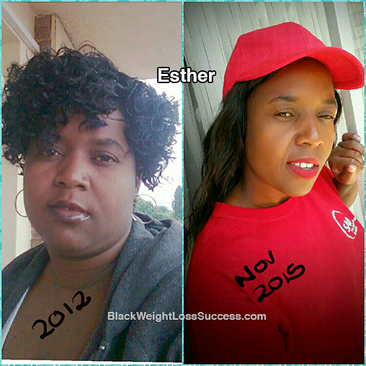 esther weight loss story