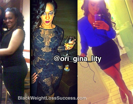 gina weight loss story