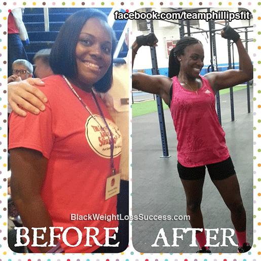 kiowana weight loss story