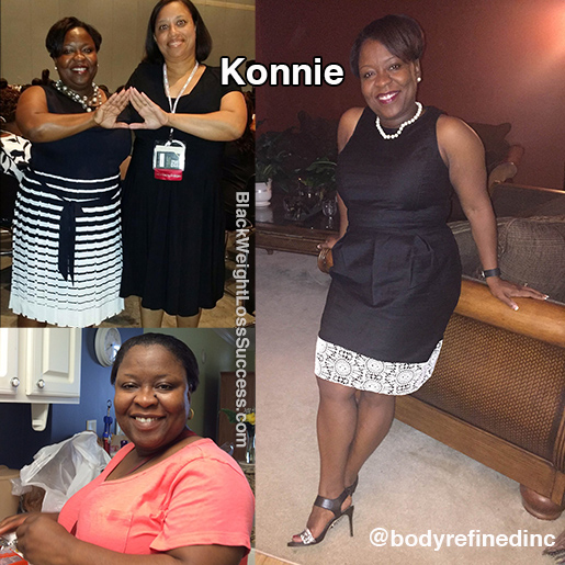 Konnie before and after