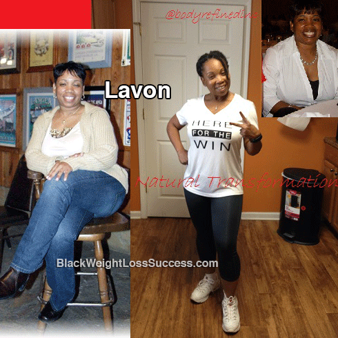 lavon before and after