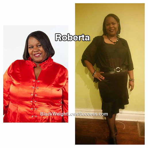 roberta before and after