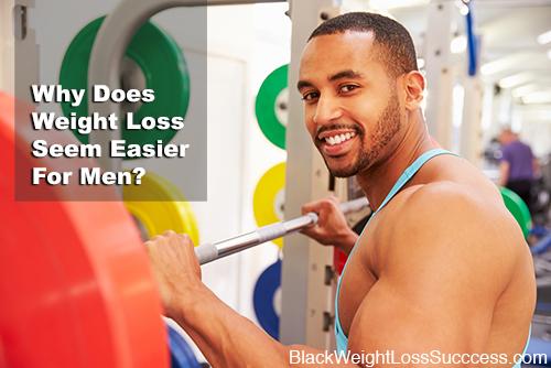 weight loss easier for men
