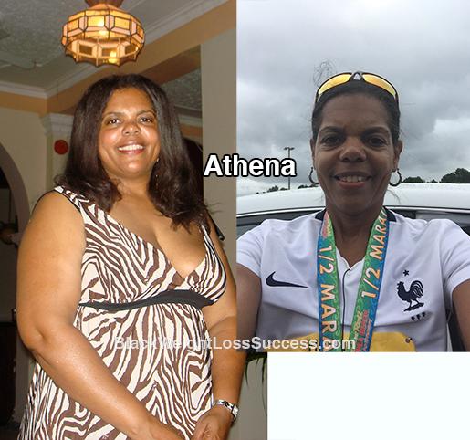Athena weight loss story