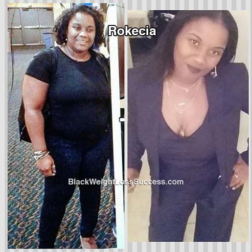 Rokecia before and after