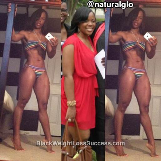gloria weight loss transformation