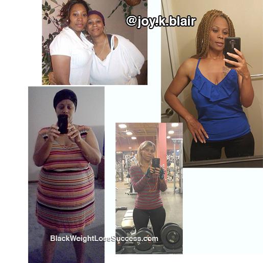 joy weight loss transformation
