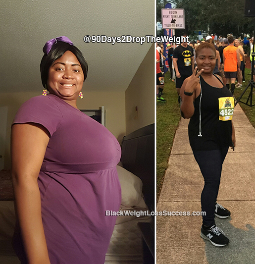 kensha weight loss journey