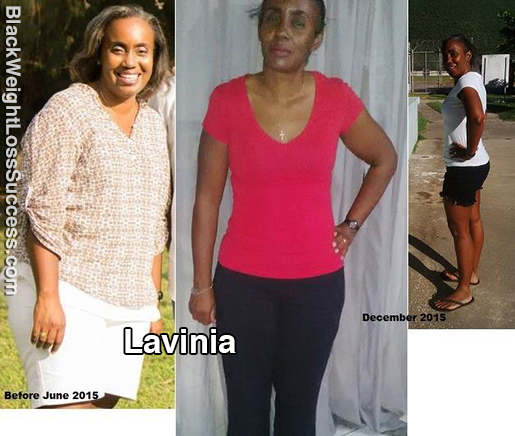 lavinia before and after