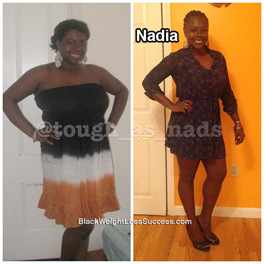 nadia weight loss story