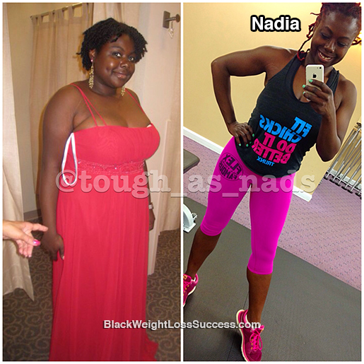 nadia before and after