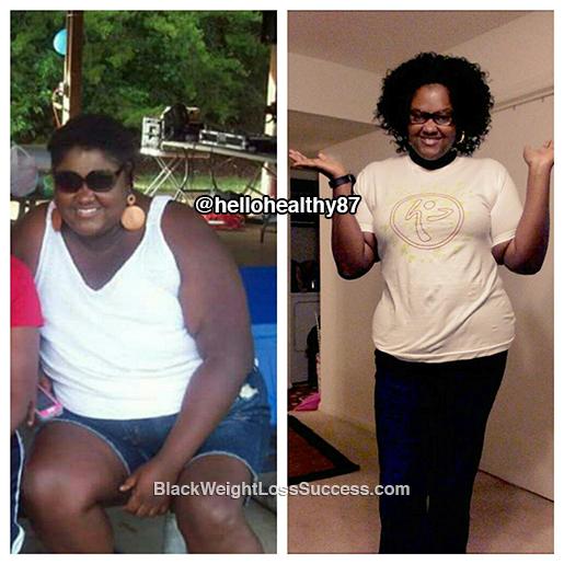 tasha weight loss story