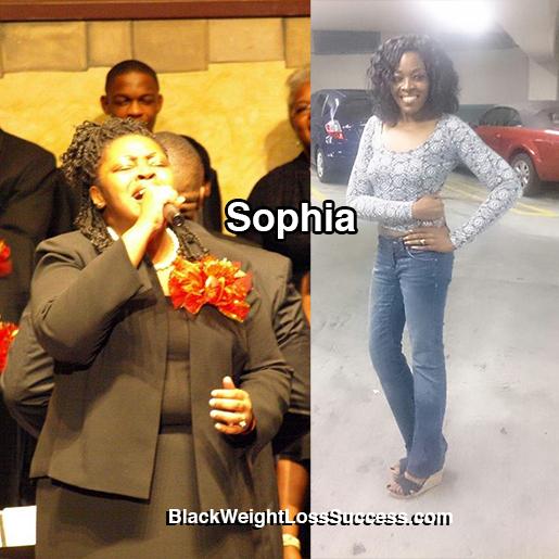 sophia weight loss story