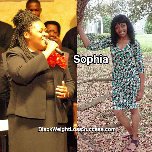 sophia before and after