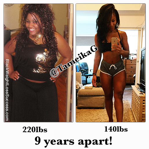 tameika g before and after