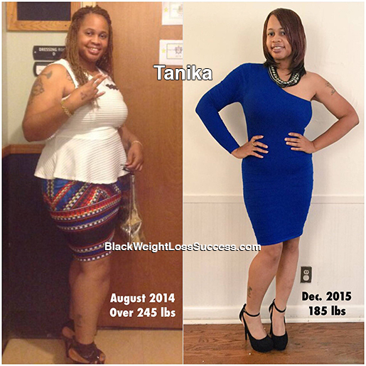tanika before and after