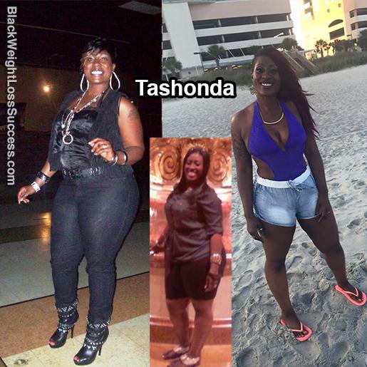 tashonda before and after