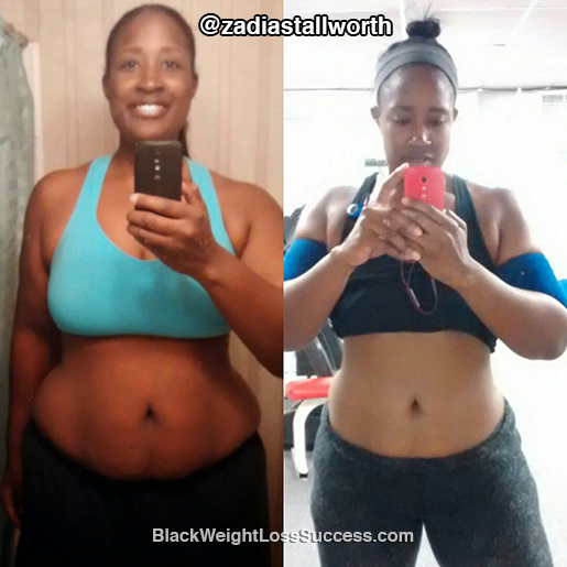 Zadia weight loss story