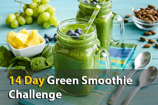 14 day green smoothie challenge