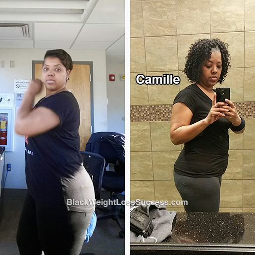 Camille before and after