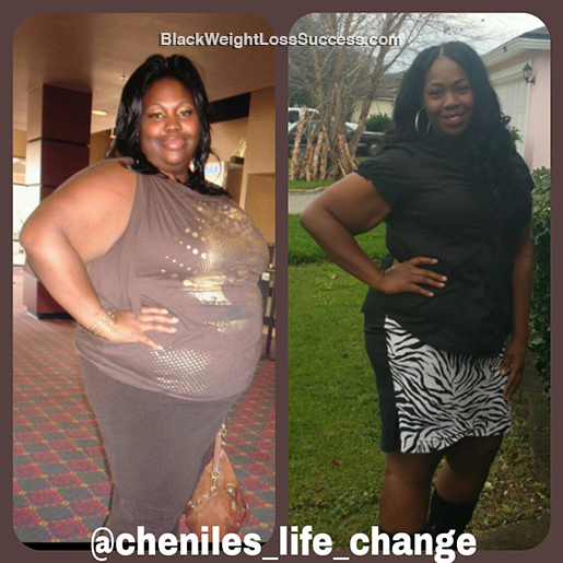 chenille weight loss story